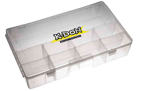 CORMORAN - K-DON Gerätebox 1009 - 40x22x8cm - Tackle Box für Angelkoffer 1007