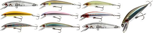 DAIWA - TOURNAMENT BABY MINNOW - Schwebender Wobbler - 6,0cm/3,5g