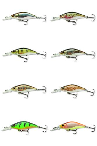 TEAM CORMORAN - DEEP BABY SHAD RELOADED - Mini Wobbler 4cm 2,5g schwimmend