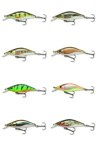 TEAM CORMORAN SHALLOW BABY SHAD RELOADED - Mini Wobbler 4cm 2,5g langsam sinkend