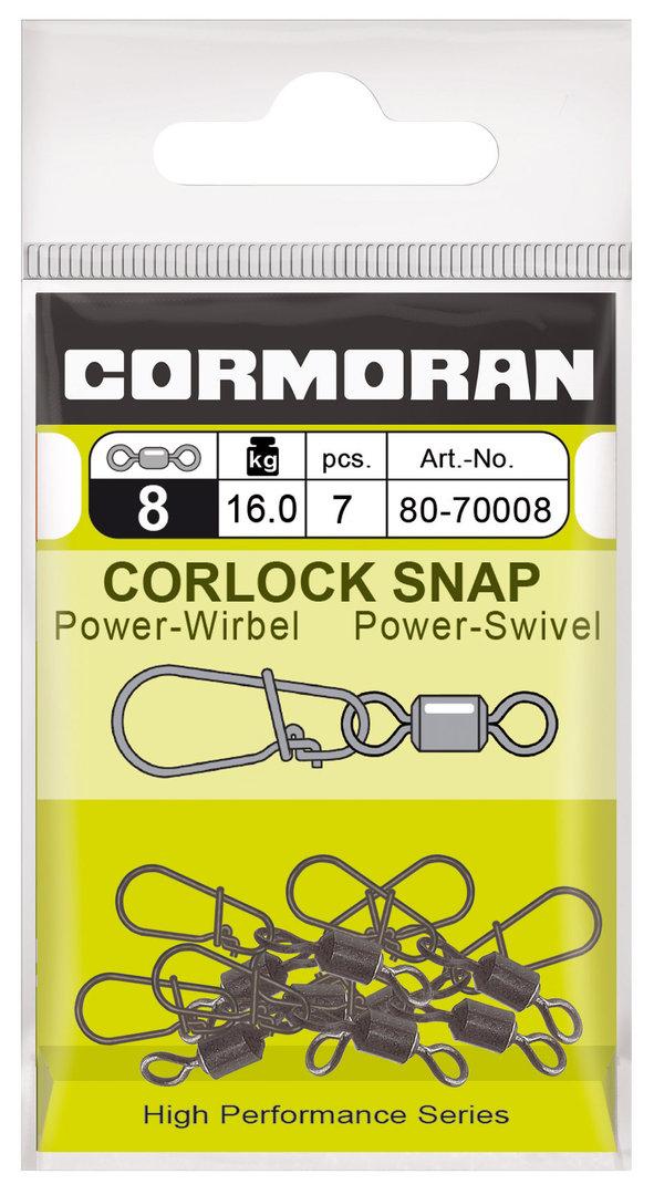 Cormoran Corlock Wirbel mit Snap Gr.8