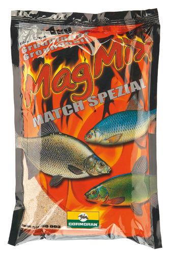 Karpfenfutter//Grundfutter Cormoran MAGMIX Fertigfutter Futtermix ROTAUGE 1kg