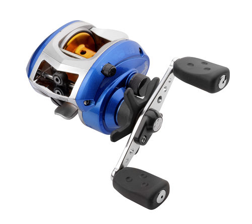 Abu Garcia BLUE MAX LEFT LP Linkshand-Baitcast-Rolle