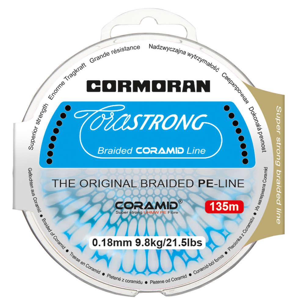 CORMORAN CORASTRONG BRAID grün Gelochtene Coramid® Schnur