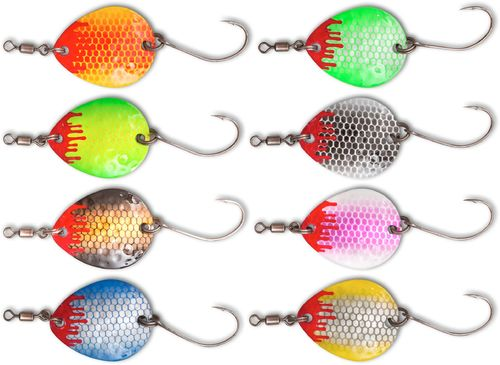 Quantum MAGIC TROUT Bloody Blades 2,1g - Forellen Spinner/Blinker/Spoons