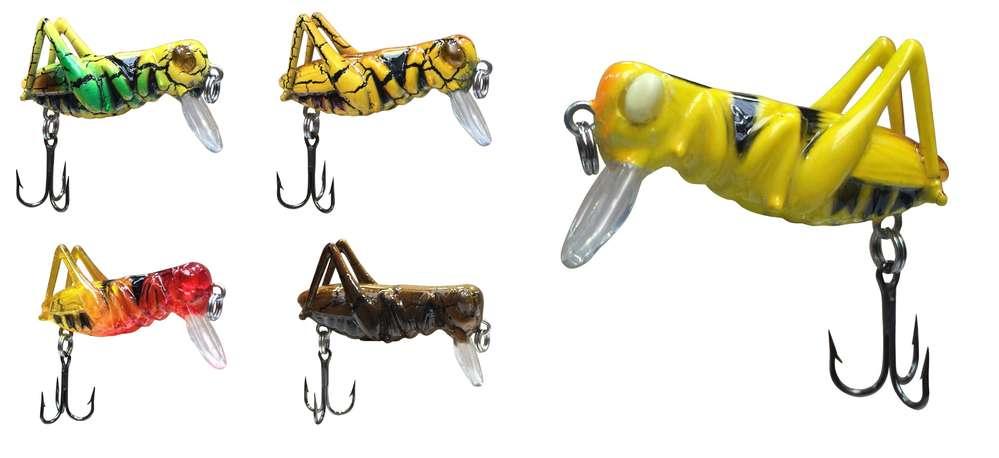 """Jenzi Insekten-Wobbler """"G-Hope""""- Grashopper Insektenimitat ..."""