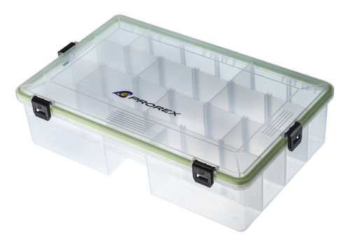 DAIWA PROREX Sealed Tackle Box L deep 15809-950 - 35,5x23x9cm - Gerätebox